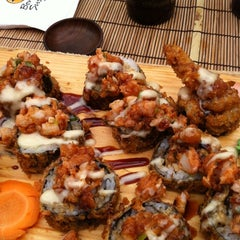 Photo taken at Bonsai Sushi by Luis M. on 10/8/2011
