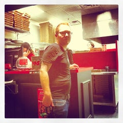 Photo taken at HotBox Pizza by Carter S. on 5/13/2012