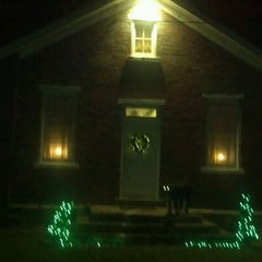 Photo taken at Boyer Schoolhouse by Ryne C. on 12/24/2011
