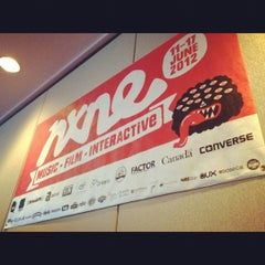 Photo taken at NXNE Conference Centre by HMV Canada on 6/14/2012