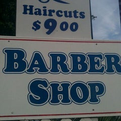 Photo taken at Chet Farley's Barber Shop by Tim L. on 1/13/2012