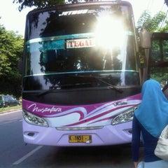 Photo taken at Nusantara Bus Agen by Dwi W. on 11/27/2011