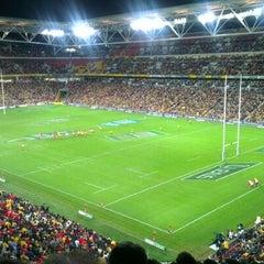 Photo taken at Suncorp Stadium by Paul M. on 6/9/2012