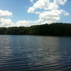 Photo taken at Burke Lake by Krystal R. on 7/16/2011