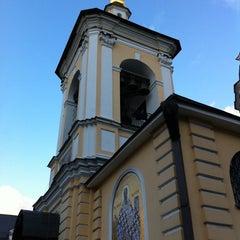 Photo taken at Храм святителя Николая в Звонарях by Aleksei P. on 11/20/2011
