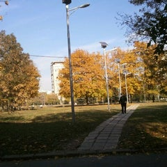 Photo taken at Парк Хиподрума by Be6i4 on 10/30/2011