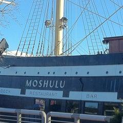 Photo taken at Moshulu by John Z. on 1/15/2012