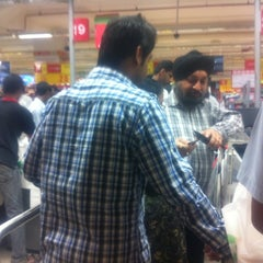 Photo taken at Auchan Hypermarket by Angad V. on 8/6/2011