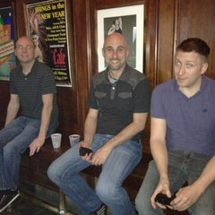 Photo taken at Lafittes Balcony Bar 901 Bourboun Upstairs by Shaw R. on 12/30/2011