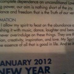 Photo taken at Bodhi Spiritual Center by hope b. on 1/15/2012