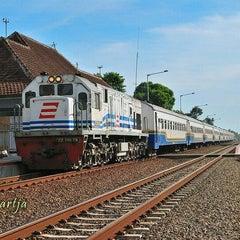Photo taken at Stasiun Wates by ributh d. on 1/20/2012