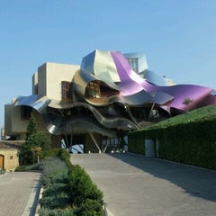 Photo taken at Hotel Marqués de Riscal by Fausto G. on 10/16/2011