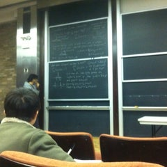 Photo taken at NYU Courant Institute of Mathematical Sciences by Shengyu C. on 3/6/2012