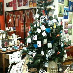 Photo taken at Bird on a Wire Creations by Rina L. on 12/6/2011