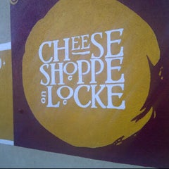 Photo taken at Cheese Shoppe on Locke by Sid F. on 1/21/2012