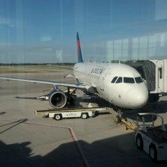 Photo taken at Austin Straubel International Airport (GRB) by Aaron H. on 6/14/2012