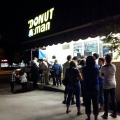 Photo taken at The Donut Man by Albert S. on 7/14/2012