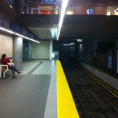 Photo taken at Broadway - City Hall SkyTrain Station by Adrian B. on 4/3/2011