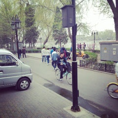Photo taken at Lomography Gallery Store Beijing Xi Cheng by dududoor on 4/9/2012