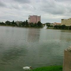Photo taken at Lake Mirror by Noelí G. on 8/17/2012