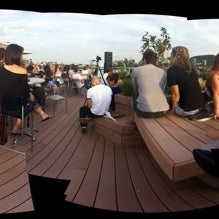 Photo taken at Terrasse - Ubisoft Montreal by Mai Anh T. on 8/27/2011