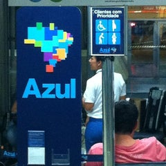Photo taken at Check-in Azul by Fabio S. on 4/6/2012