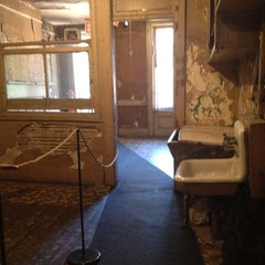 Photo taken at Lower East Side Tenement Museum by Anna on 2/26/2012