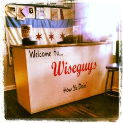 Photo taken at Wiseguys Chicago Pizza by Jahlil J. on 7/12/2012