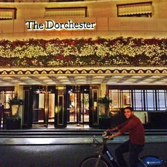 Photo taken at The Dorchester by F. A. on 8/9/2012