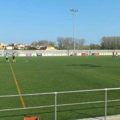 Photo taken at Camp De Futbol De St. Pere Pescador by Jaume S. on 4/1/2012