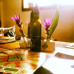 Photo taken at Saj Restaurante by Pati P. on 4/26/2012