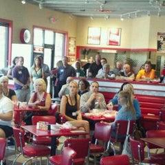 Photo taken at Freddy's Frozen Custard & Steakburgers by Robert M. on 8/8/2012