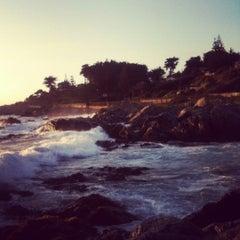 Photo taken at Isla Negra by Lore C. on 2/5/2012