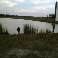 Photo taken at Kolam Tadahan Air 1 a.k.a Fishing Spot. by mj y. on 4/11/2012