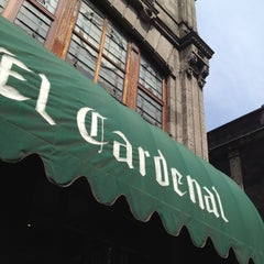 Photo taken at El Cardenal by Roxana Z. on 3/31/2012