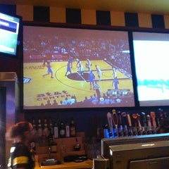 Photo taken at Buffalo Wild Wings by ilayda k. on 5/30/2012