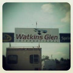 Photo taken at Watkins Glen International by Erin Q. on 8/9/2012