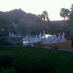 Photo taken at Sanctuary Resort on Camelback by Scot W. on 2/5/2012