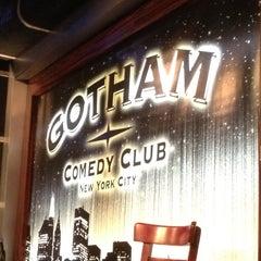 Photo taken at Gotham Comedy Club by sean j. on 4/13/2012