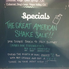 Photo taken at Shake Shack by matt s. on 5/24/2012