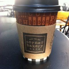 Photo taken at Corner Bakery Cafe by Tom K. on 6/8/2012