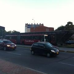 Photo taken at TransMilenio: Puentelargo by Beto M. on 6/26/2012