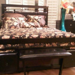 Photo taken at Bob's Discount Furniture by Ladymay on 6/27/2012