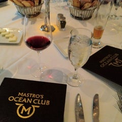 Photo taken at Mastro's Ocean Club by asianbama on 4/10/2012