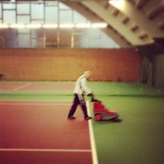 Photo taken at Kronprinsens Tennishall & Tenniscenter by Martin T. on 2/22/2012