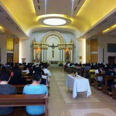 Photo taken at Chapel of the Eucharistic Lord by Karla T. on 5/6/2012