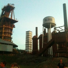 Photo taken at Sloss Furnaces National Historic Landmark by Cory D. on 7/29/2012
