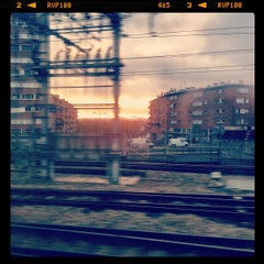 Photo taken at RER Joinville-le-Pont [A] by Emmanuel G. on 4/11/2012