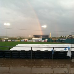 Photo taken at Medlar Field at Lubrano Park by Melissa H. on 8/15/2012