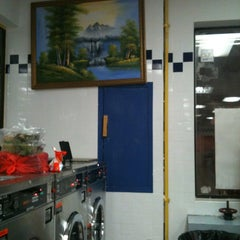 Photo taken at Super Brite Kings Laundry INC by Man B. on 5/25/2012